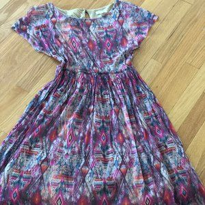 Anthropologie Weston Tribal Dress Size XS